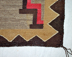 Navajo Rug Restoration and Repair by Penelope Starr - After